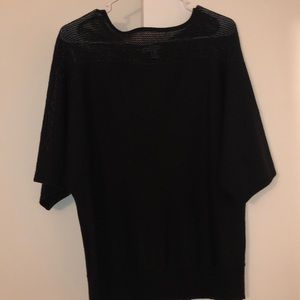 New York & Company Women's Black Sweater